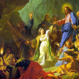 ラザロの復活 ジャン=バティスト・ジューブネー