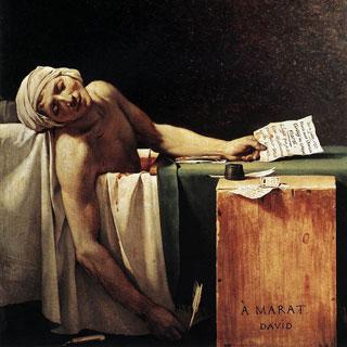 『マラーの死』ダヴィッド